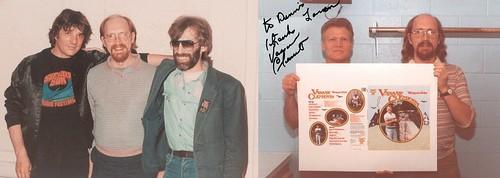 Dennis Loren, Rick Danko, Richard Manuel, Vassar Clements