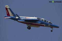 E114 1 F-TERR - E114 - Patrouille de France - French Air Force - Dassault-Dornier Alpha Jet E - RIAT 2013 Fairford - Steven Gray - IMG_9934