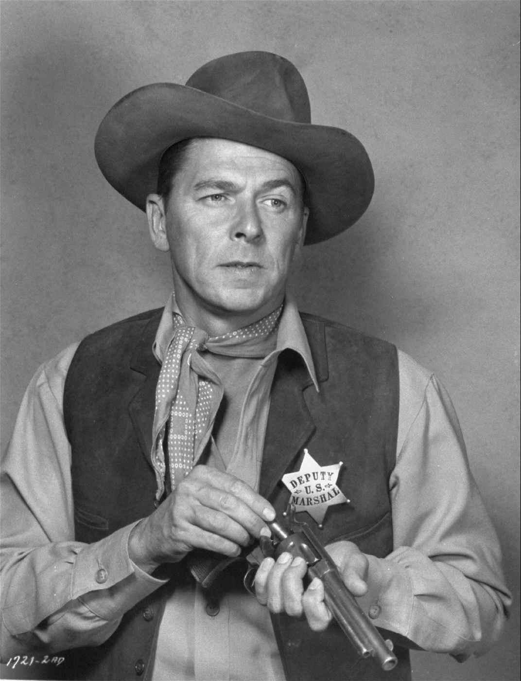 Ronald Reagan in Law and Order, 1953.