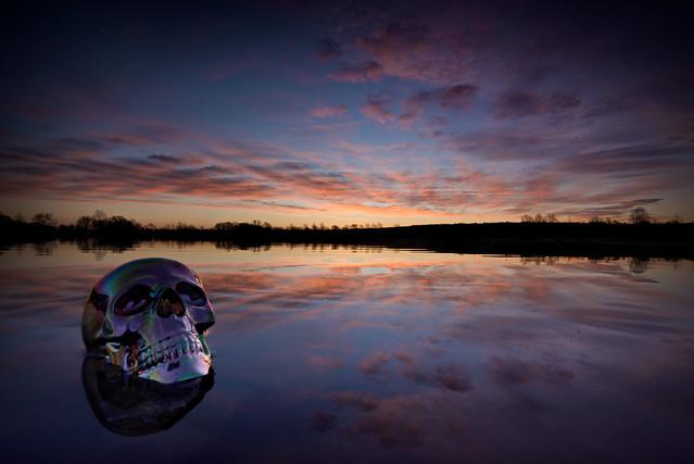 skull sunrise, Nikon D7200, Sigma 10-20mm F4-5.6 EX DC HSM