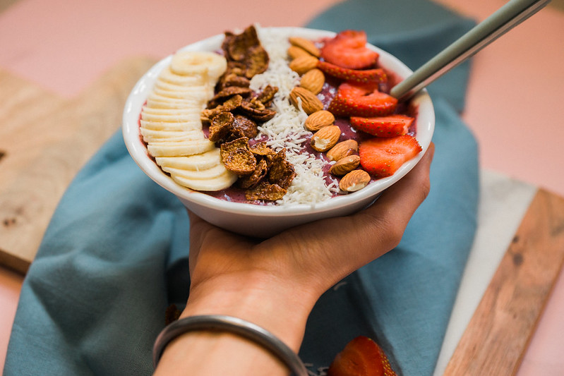 Berry Banana Smoothie Bowl Recipe