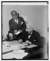 Aide Morris Lewis and Rep. Oscar DePriest: 1929