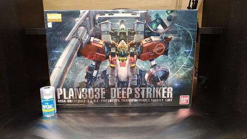 MG 1/100 Plan303 Deep Striker - Box Art Preview