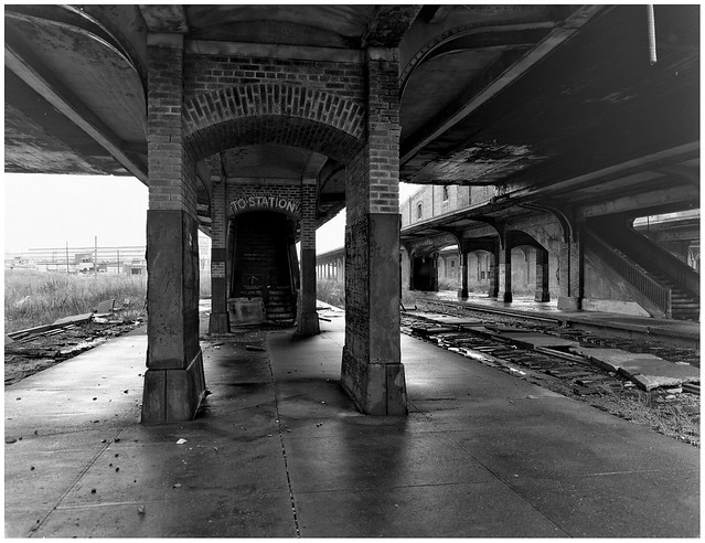 Ruined Buffalo Central Terminal Platform