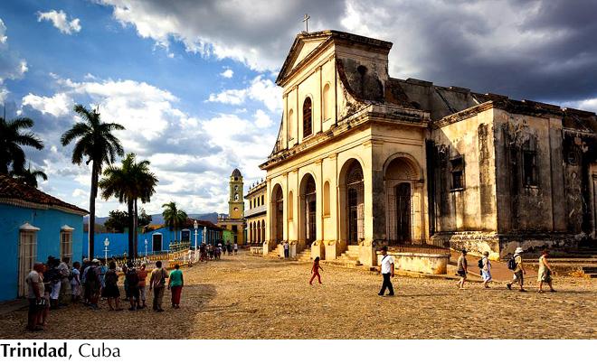 Iglesia en Trinidad, Cuba