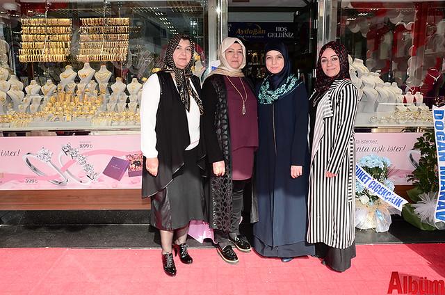 Zehra Çalışır, Hatice Kopmaz, Rabia Aydoğan, Filiz Aras
