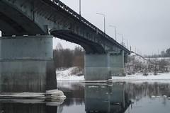 Двое пострадавших и большая пробка на «треснувшем» мосту в Новополоцке