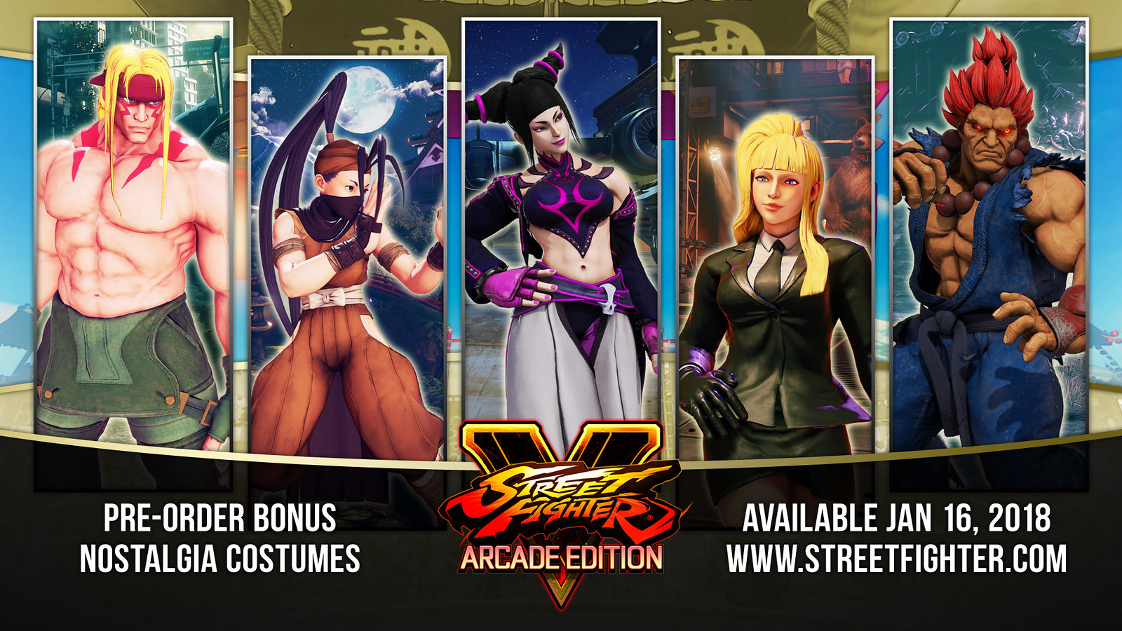5 Things To Try In Street Fighter V Arcade Edition Out Jan 16