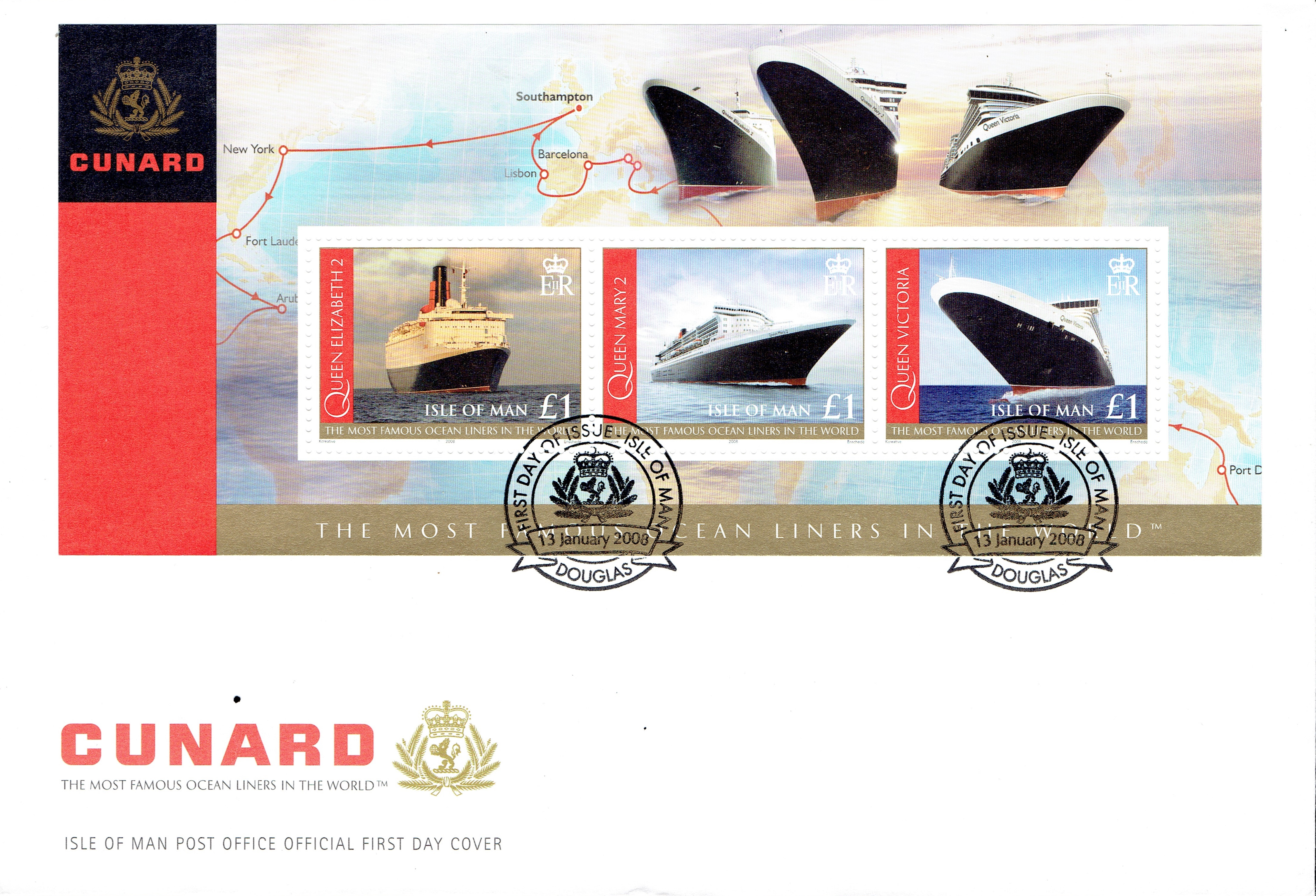 Isle of Man - Scott #1239 (2008): First Day Cover