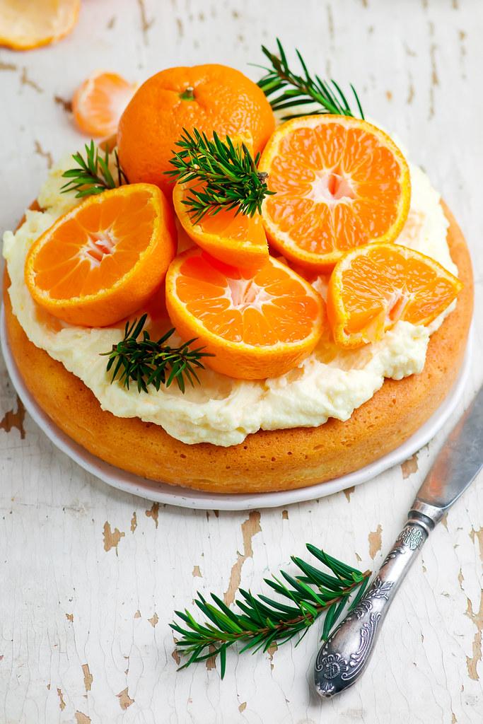 fresh tangerine cake.2