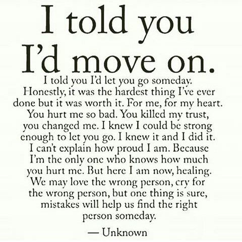 Sad Love Quotes I Told You I39d Move On Love Flickr