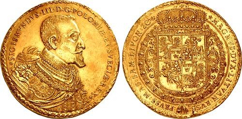 Triton XXI lot 1127 Poland Zygmunt III Wasa