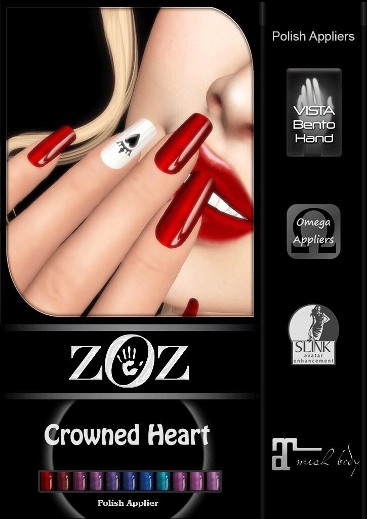 {ZOZ} Crowned Heart pix L - TeleportHub.com Live!