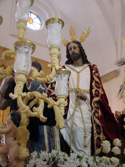 Hermandad Del Santísimo Cristo Del Amor En Su Entrada Triunfal En Jerusalén.