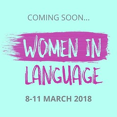 #WomenInLanguage - great online even to help your language learning. I'll take part, @maria.ortega.garcia will present and I can't wait! ☺