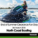 KAWASAKI DEALER EVENT – North Coast Boating – End of Summer Clearance Fun Day – 3rd March