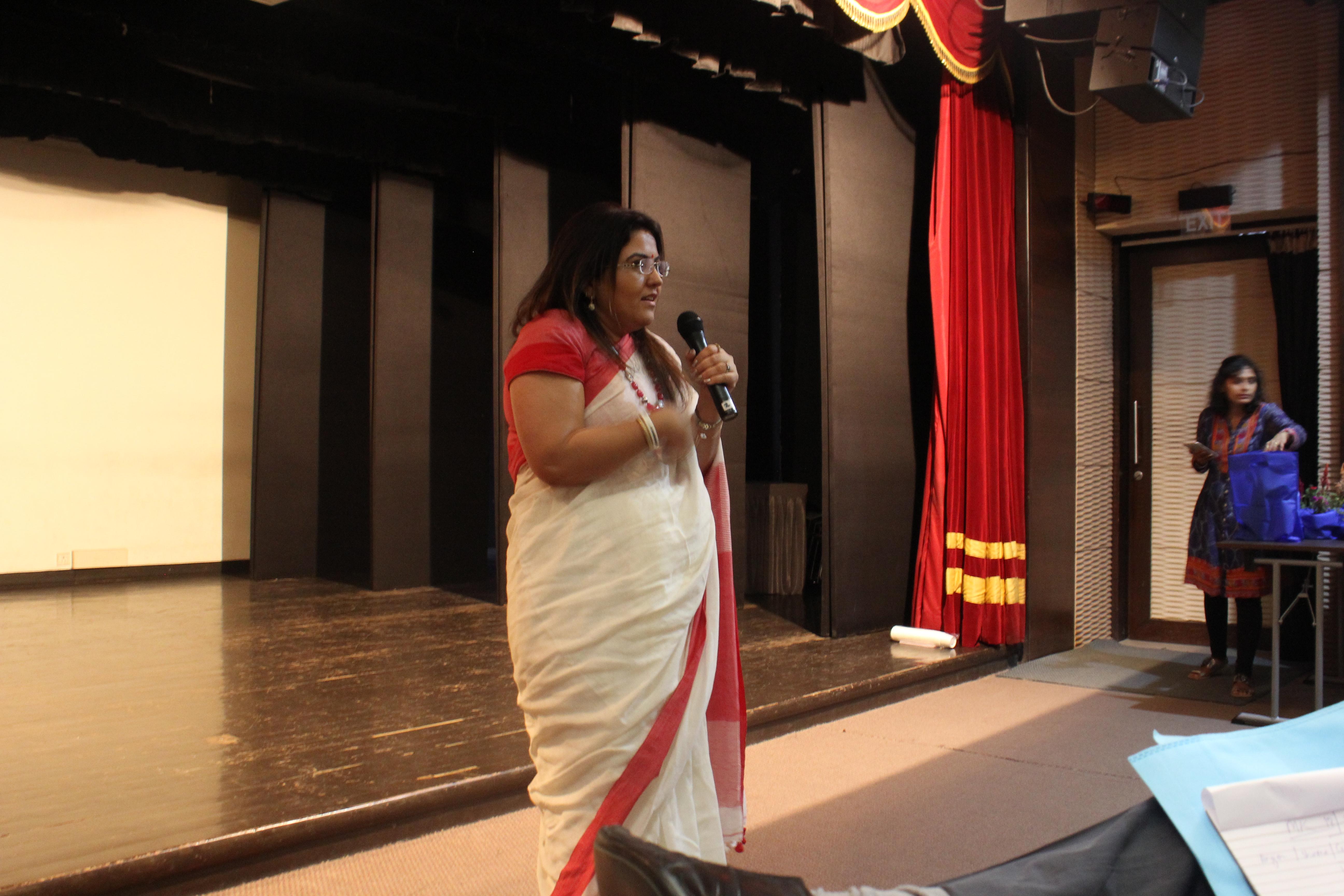 International Survivors of Suicide Loss Day 2017: Dr. Kanan Khatau Chikal, a motivational speaker and psychologist.