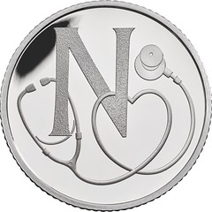 National Health Service 10 pence