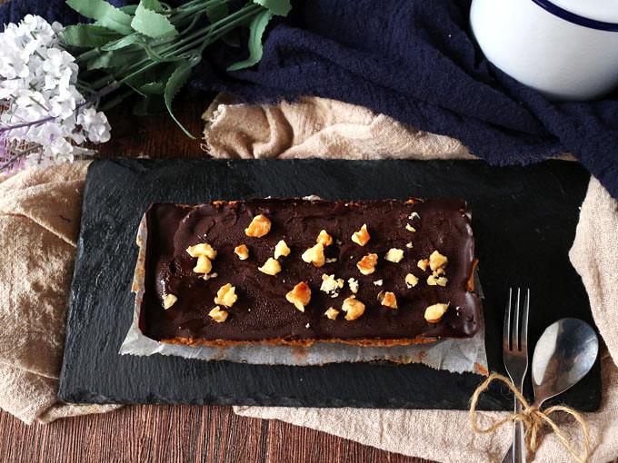 巧克力香料南瓜焦糖條 Chocolate Spiced Pumpkin Caramel Bars (9)