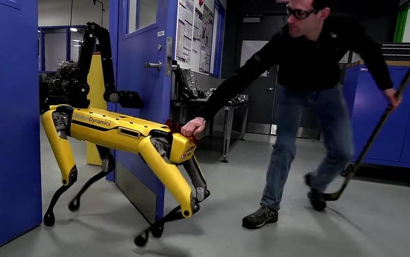 Les robots du Boston Dynamics nous montrent leur capacité à s'adapter