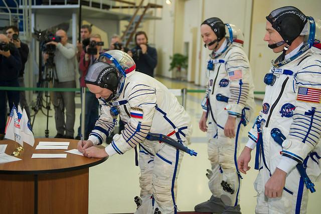 Expedition 55 crew member Oleg Artemyev