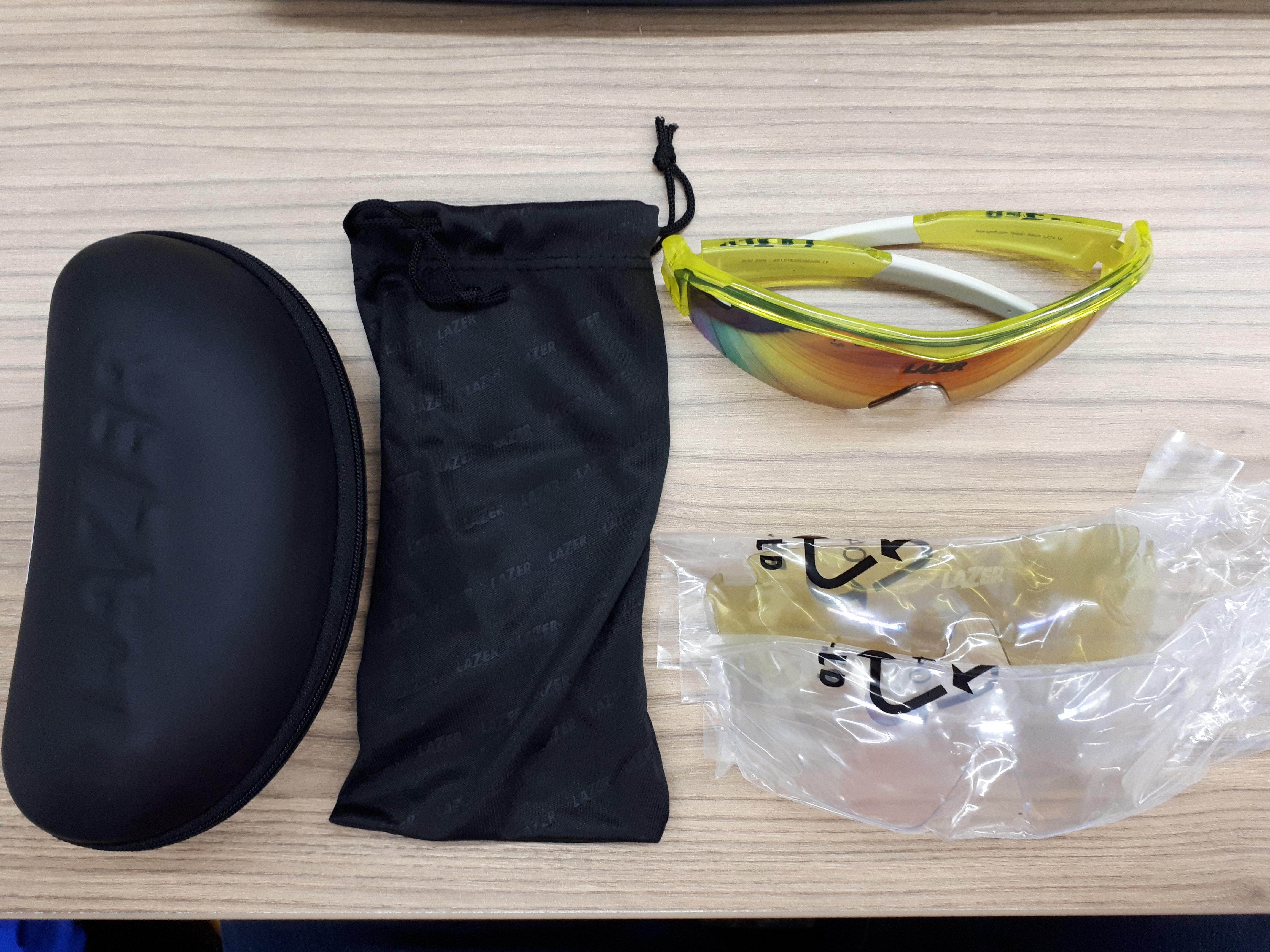 03a26d90ea ... Review Lazer Sport SS1 cycling sunglasses the accidental randonneur