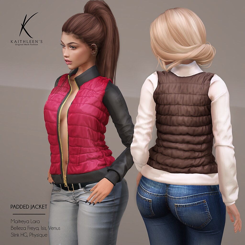 Kaithleen's Padded Jacket @ The Season Story - TeleportHub.com Live!
