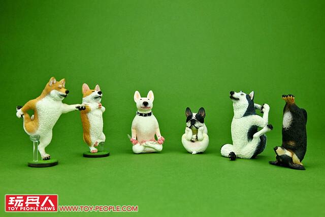 【得獎名單公布】超可愛的療癒姿態~!研達國際【ANIMAL LIFE 第一彈:狗瑜珈大師】跟著動物們一起舒展筋骨吧~