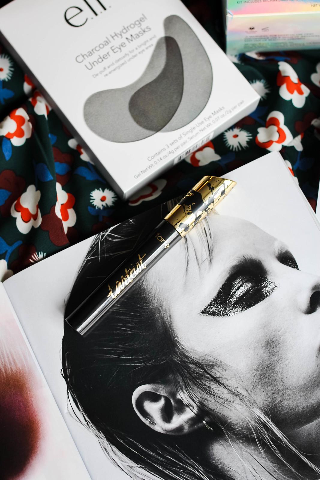 Tarte Tarteist Lash Paint Mascara Flat Lay Black White Magazine