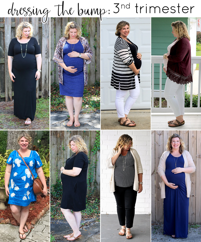 dressing the bump third trimester