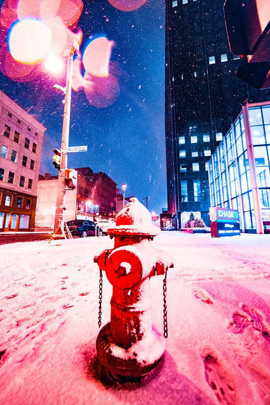 Snow Covered Fire Hydrant