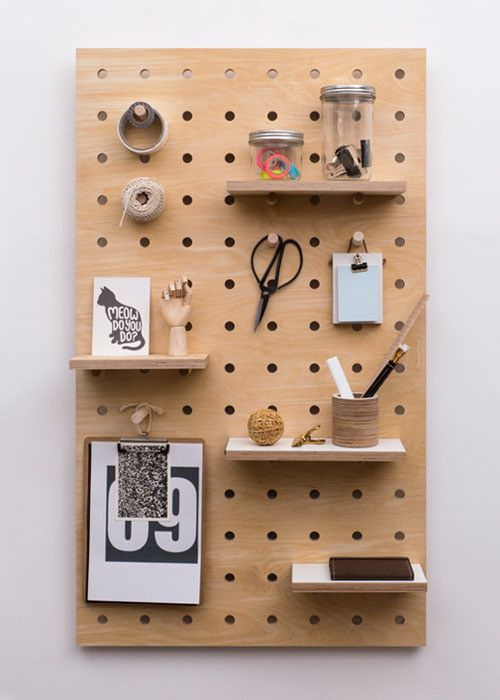 home decor plans 2018 - pegboard