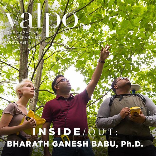 "Read the latest issue of VALPO Magazine to learn more about Professor Bharath Ganesh Babu, who describes his specialty of biogeography as the ""what, where, when, and how of life on Earth."" Story: bit.ly/VALPO-QandA"