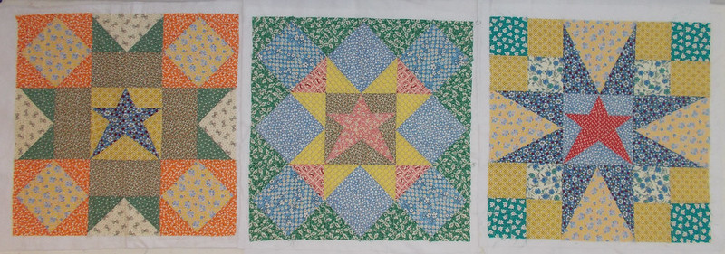 30s Repro pillow covers by Sandi Walton at Piecemeal Quilts