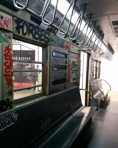 J Train (2) #newyorkcity #newyork #manhattan #subway #train #priverevaux #graffiti #latergram