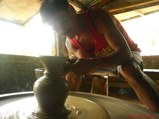 Expert potter