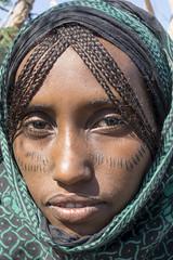 Ethiopia. Afar. scarifications