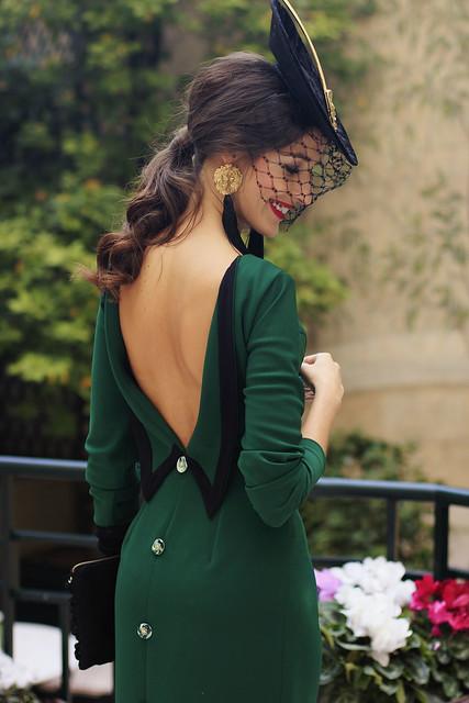 Vestido midi verdes de Cherubina 1