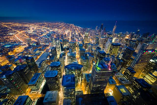 Sears Tower Sky Deck, Nikon D600, Sigma 12-24mm F4.5-5.6 II DG HSM