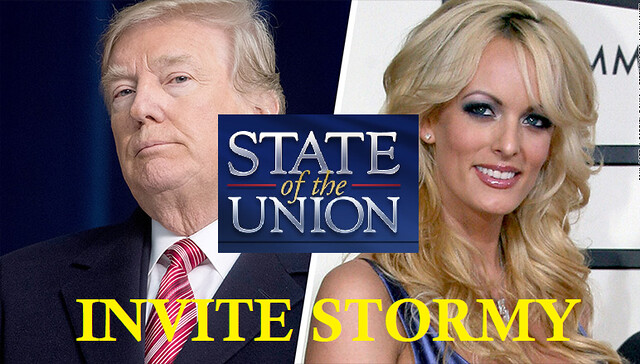 Invite Stormy Daniels to the State of the Union Address