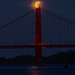 Lunar Eclipse Teed Up by Jeffrey Sullivan