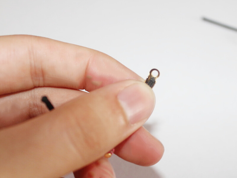 adding crimp to one end