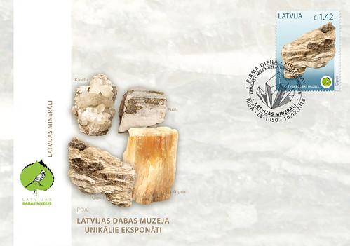 Aploksne Latvijas Dabas muzeja unikālie eksponāti - Ģipsis