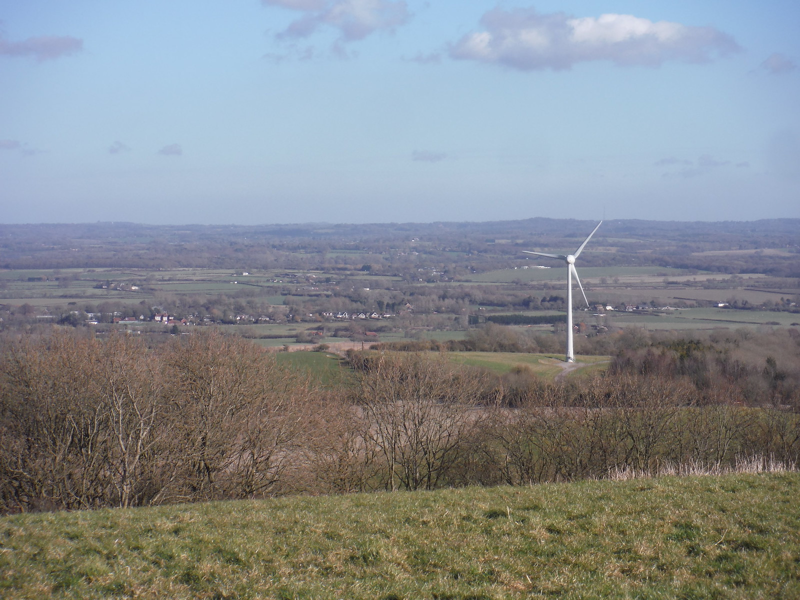 Glyndebourne Wind Turbine SWC Walk 181 - Lewes to Seaford via West Firle