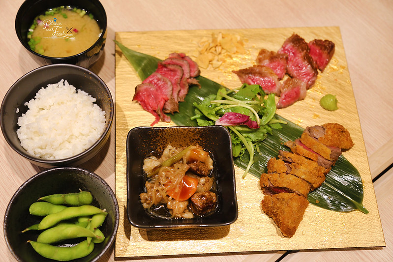 j's gate dining hachi beef set