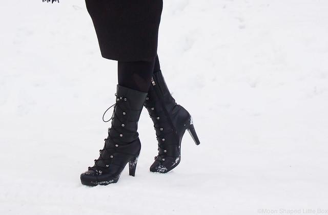 Fuzzin kengät, korkonilkkurit, korolliset talvikengät