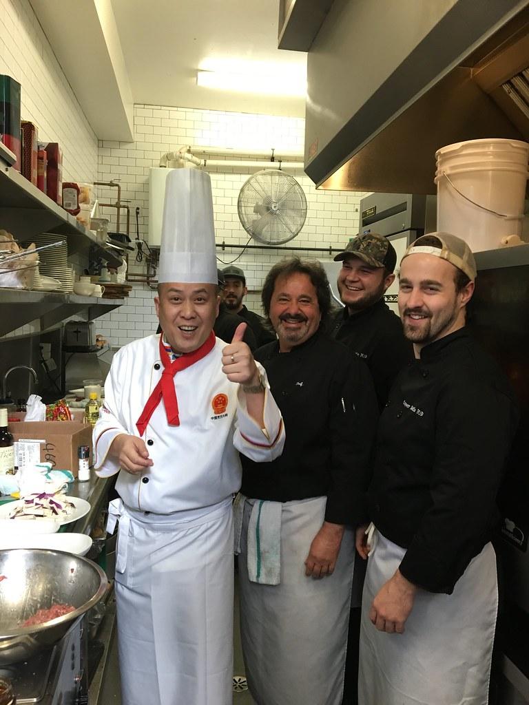 Chef exchange at Copper Kettle Pub in Glen Williams