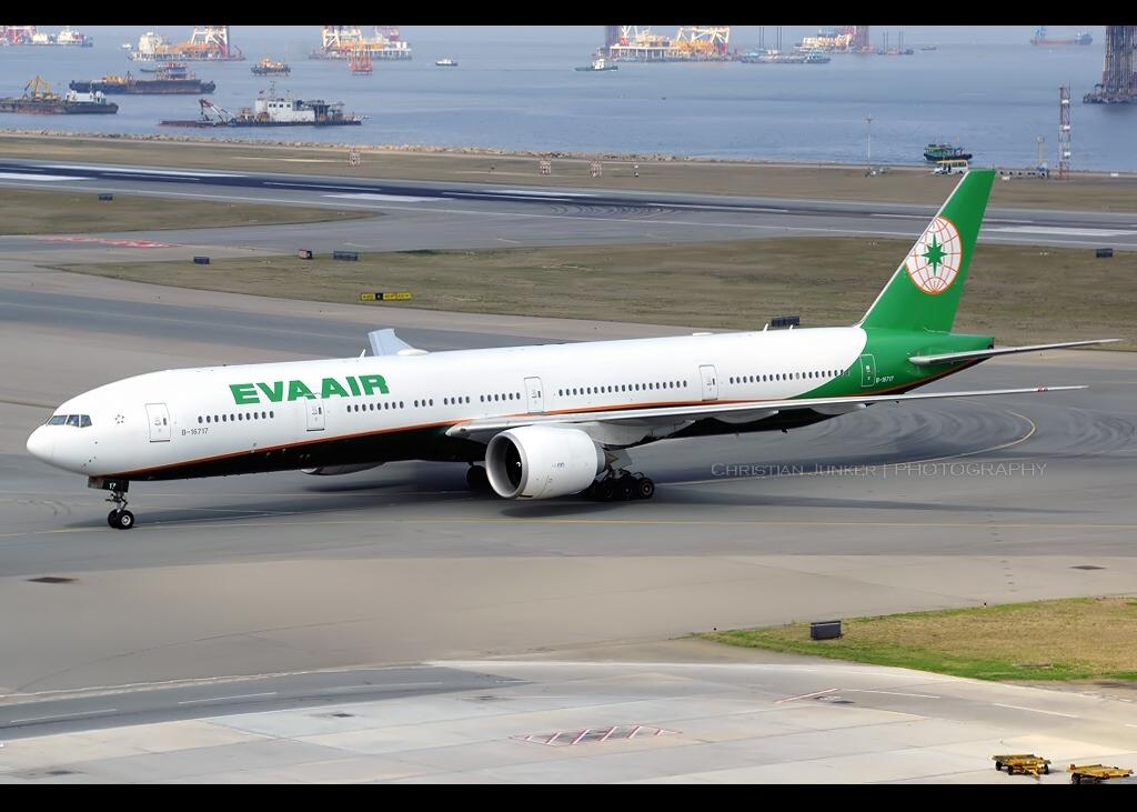 B777-35E/ER | EVA Air | B-16717 | HKG