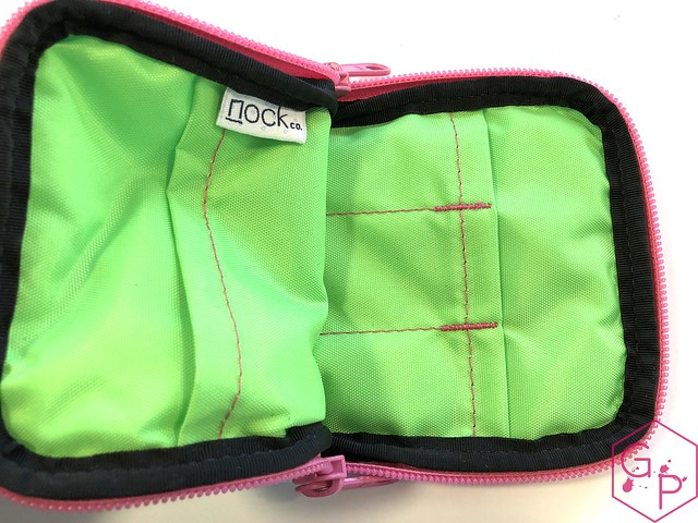 Review @NockCo Sinclair Pen Case - Spa Blue:Lime Green Unicorn Snot @GouletPens @BrianGoulet_ 5