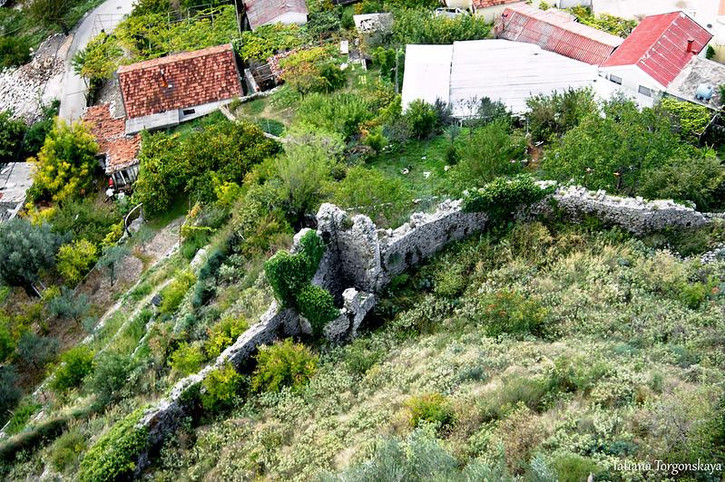 Нижний уровень фортификационной системы Старого Бара